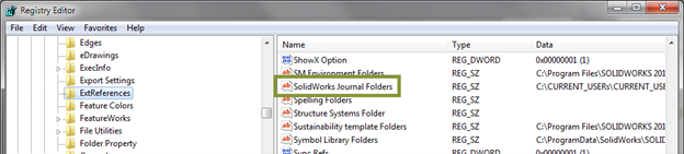 SOLIDWORKS Journal File Error Permissions