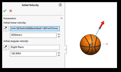 SOLIDWORKS Motion Basketball Free Throw Analysis