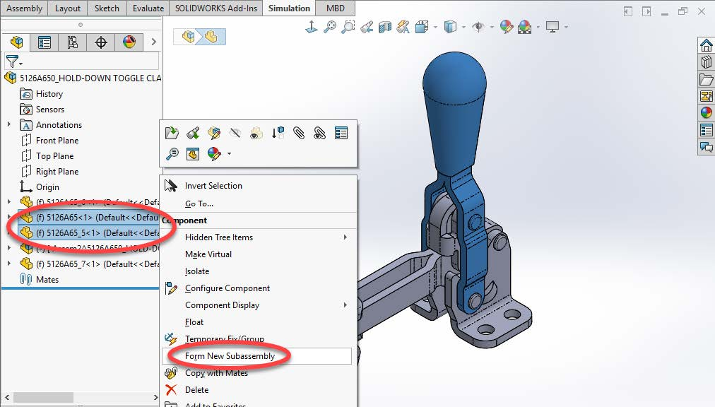 SOLIDWORKS Parts that aren't Parts Virtual Components