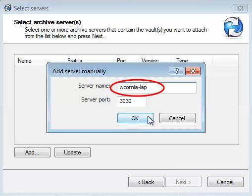 SOLIDWORKS PDM Vault Server Name