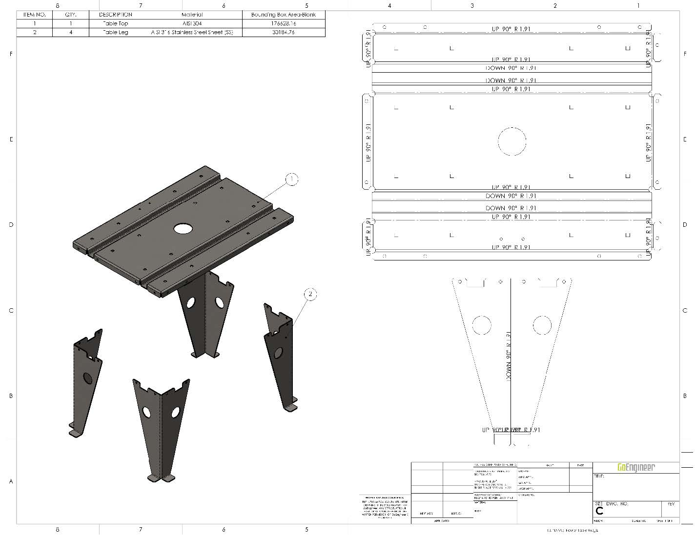 SOLIDWORKS Sheet Metal Bodies