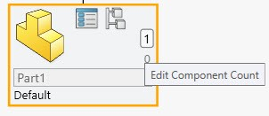 Edit Component Count with SOLIDWORKS Treehouse