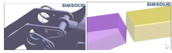 Virtual Connections in Altair SimSolid