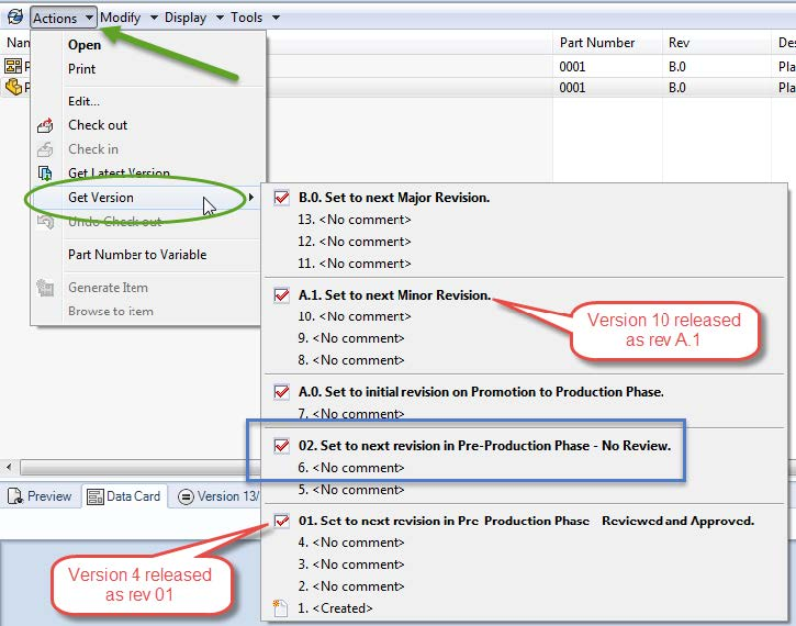 Visualizing Document History in SOLIDWORKS PDM