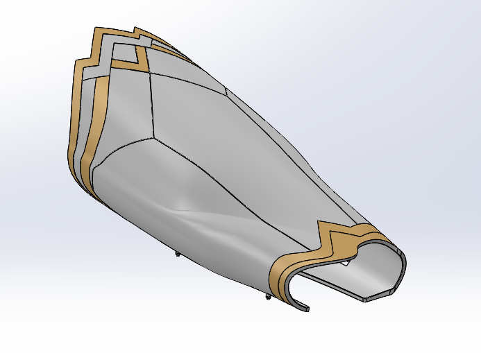 Wonder Woman Wrist Guards CAD Design